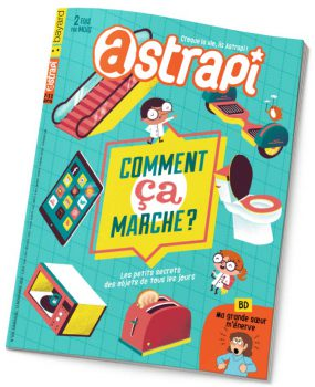 couverture Astrapi n°870, 15 novembre 2016
