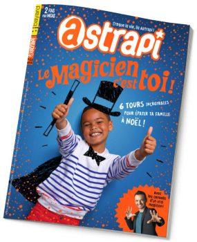 couverture Astrapi n°872, 15 décembre 2016