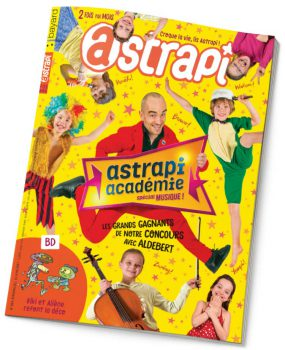 couverture Astrapi n°884, 15 juin 2017