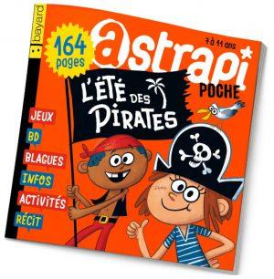 couverture Astrapi n°885, juillet 2017