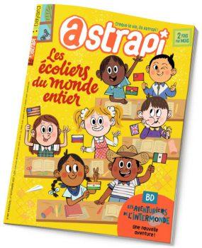 couverture Astrapi n°887, 1er septembre 2017