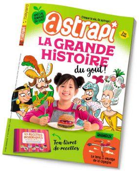 couverture Astrapi n°889, 1er octobre 2017
