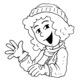 Les coloriages d'Astrapi : Lulu