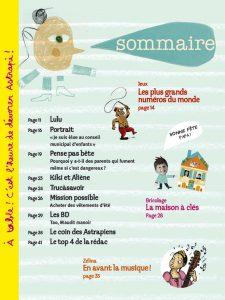 sommmaire Astrapi no 752 - 15 juin 2011