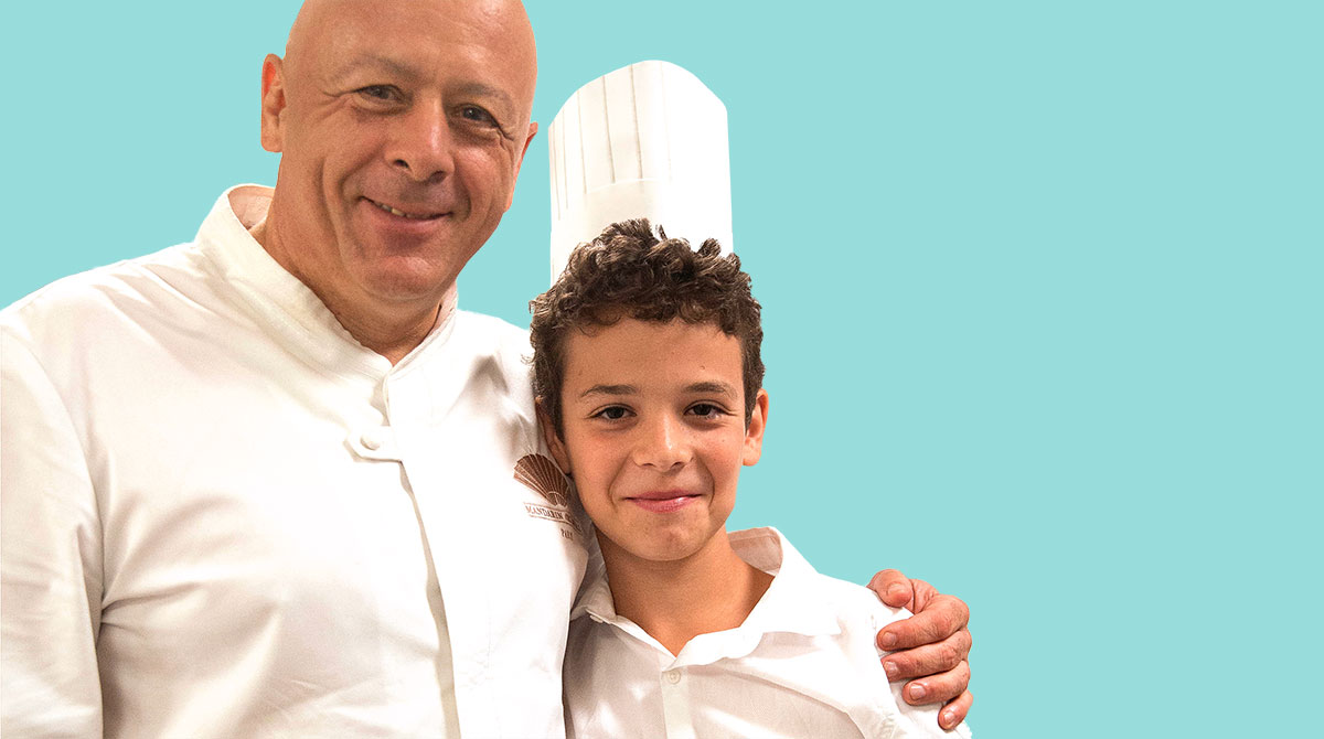 La recette de Thierry Marx et Nattan