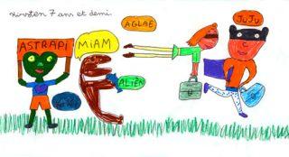 Courrier lecteur Astrapi, Kirsten, 7 ans 1/2