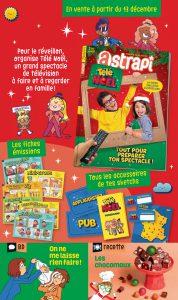Sommaire du magazine Astrapi du 15 décembre 2017
