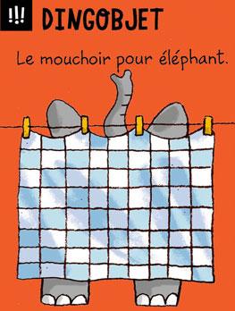Dingobjet - Le mouchoir pour éléphant.