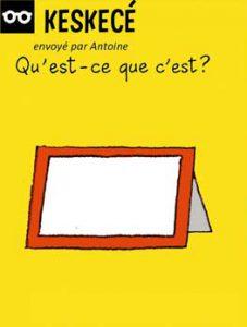Keskecé, envoyé par Antoine - Qu'est-ce que c'est ? La photo de l'homme invisible et de sa femme.