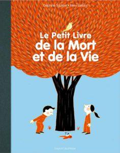 Couverture Le petit livre de la mort et de la vie - Delphine Saulière - Rémi Saillard - Bayard Jeunesse Editions