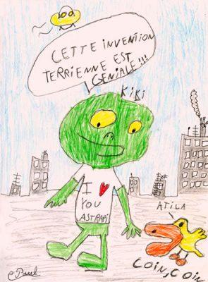 Courrier lecteur Astrapi, Paul, 8 ans
