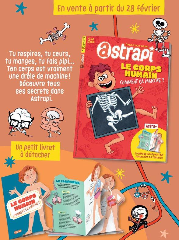 Sommaire du magazine Astrapi du 1er mars 2018