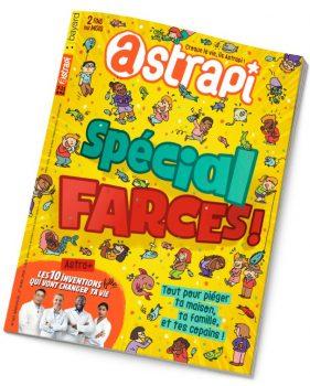 Couverture Astrapi n°901 du 1er avril 2018