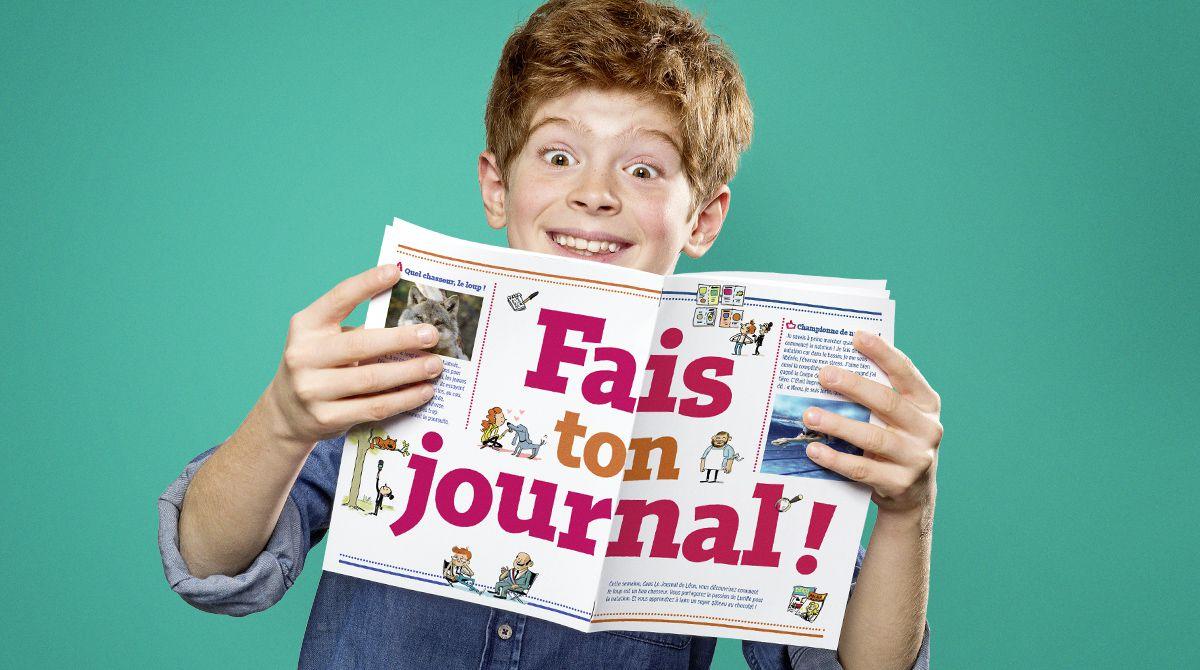 Fais ton journal avec le kit Astrapi !