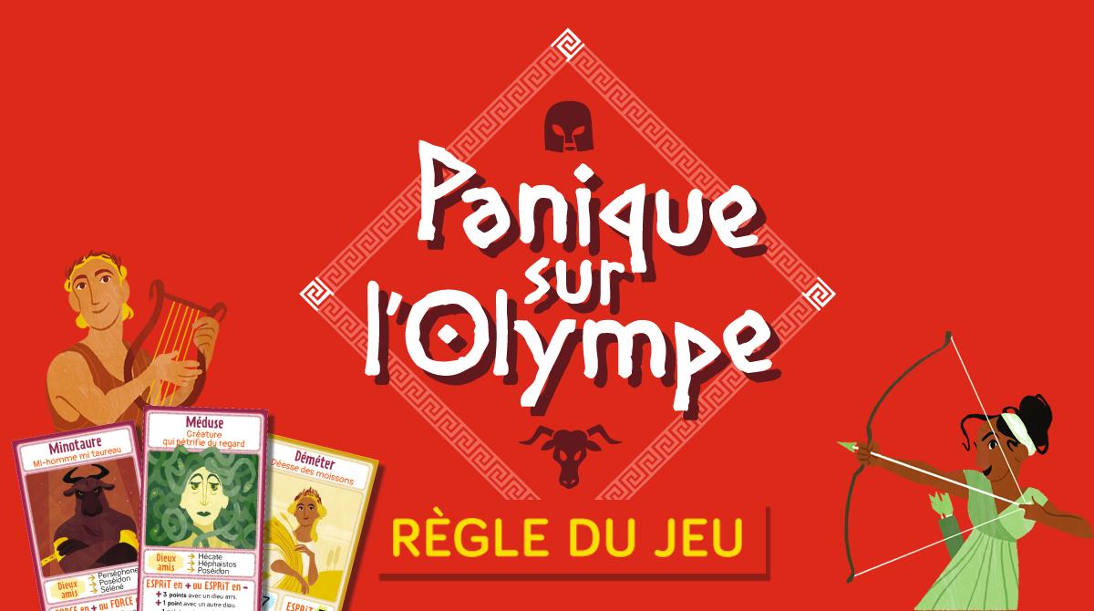 Panique sur l'Olympe ! La règle du jeu