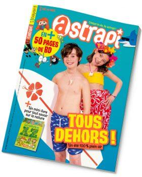 Couverture Astrapi n°908 du 1er août 2018