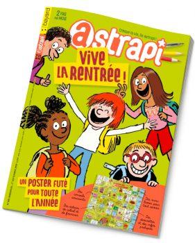 Couverture Astrapi n°909 du 1er septembre 2018