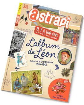 Couverture Astrapi n°913 du 1er novembre 2018