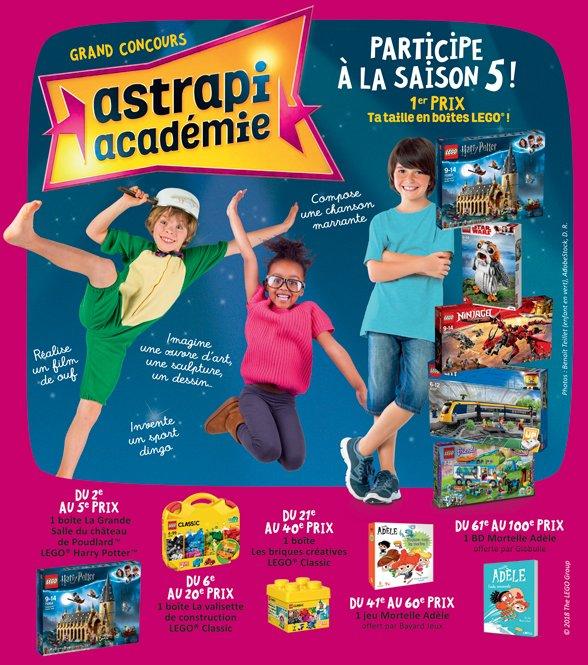 Astrapi Académie 2019 : 100 prix à gagner