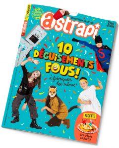Couverture du magazine Astrapi n° 919 du 1er février 2019