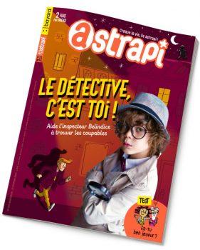 Couverture du magazine Astrapi n° 920 du 15 février 2019