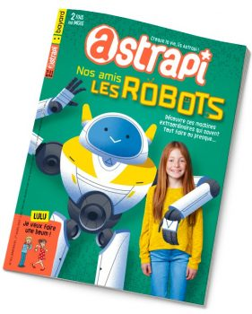 Couverture du magazine Astrapi n° 921 du 1er mars 2019