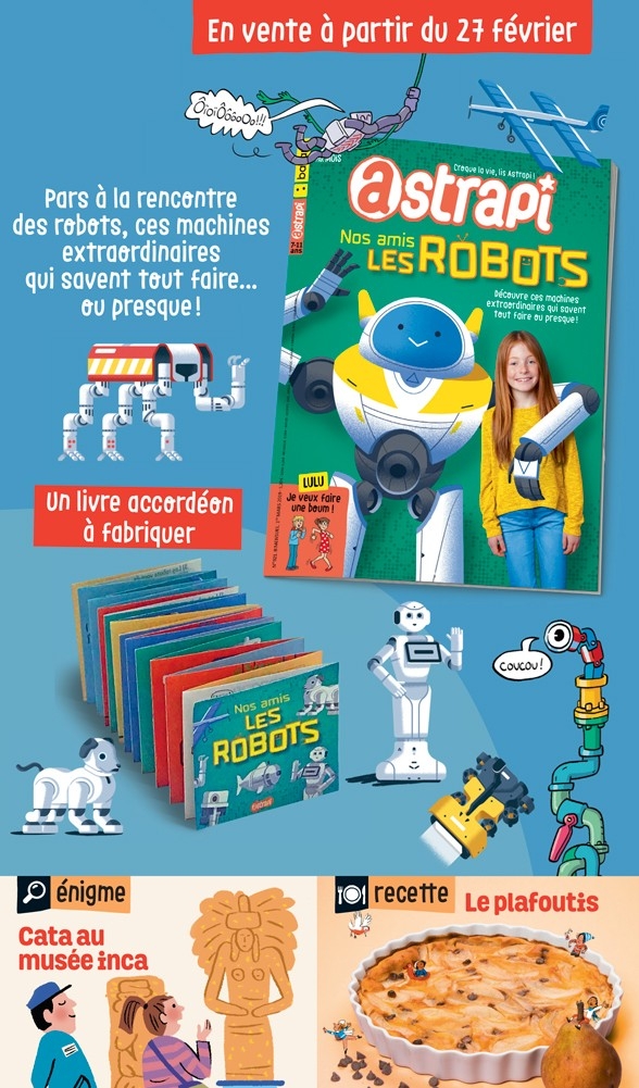 Sommaire du magazine Astrapi n° 921 du 1er mars 2019