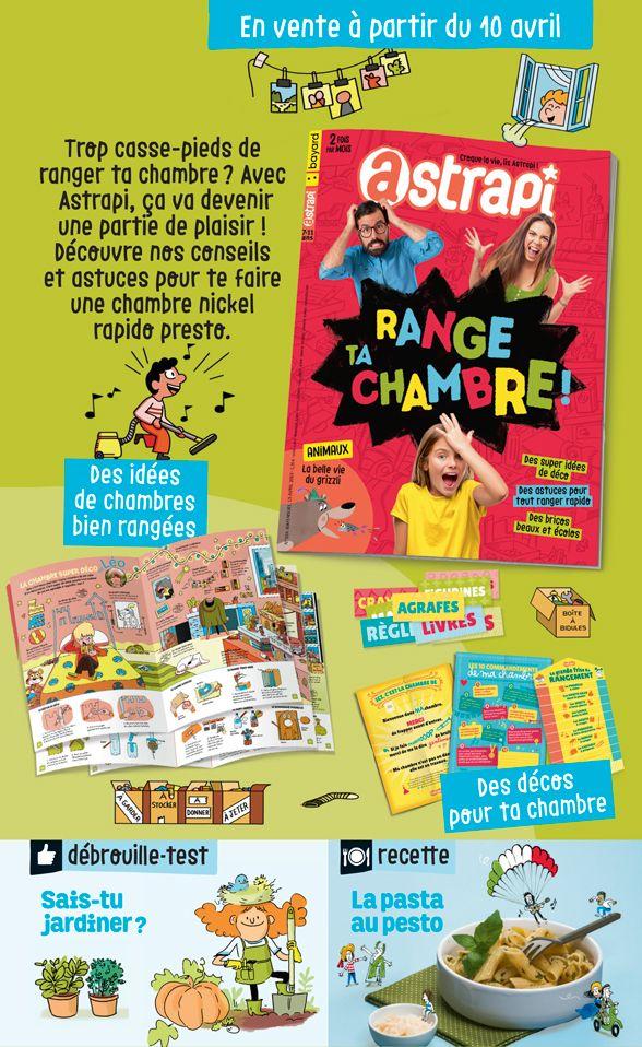 Sommaire du magazine Astrapi n° 924 du 15 avril 2019