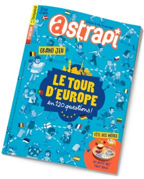 Couverture du magazine Astrapi n° 926 du 15 mai 2019