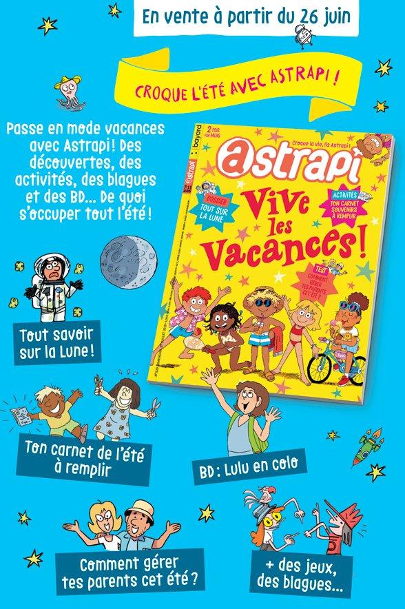 Sommaire du magazine Astrapi n° 929 du 1er juillet 2019