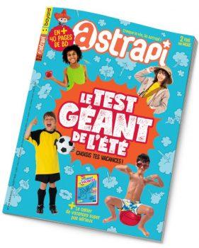 Couverture du magazine Astrapi n° 930 du 1er août 2019