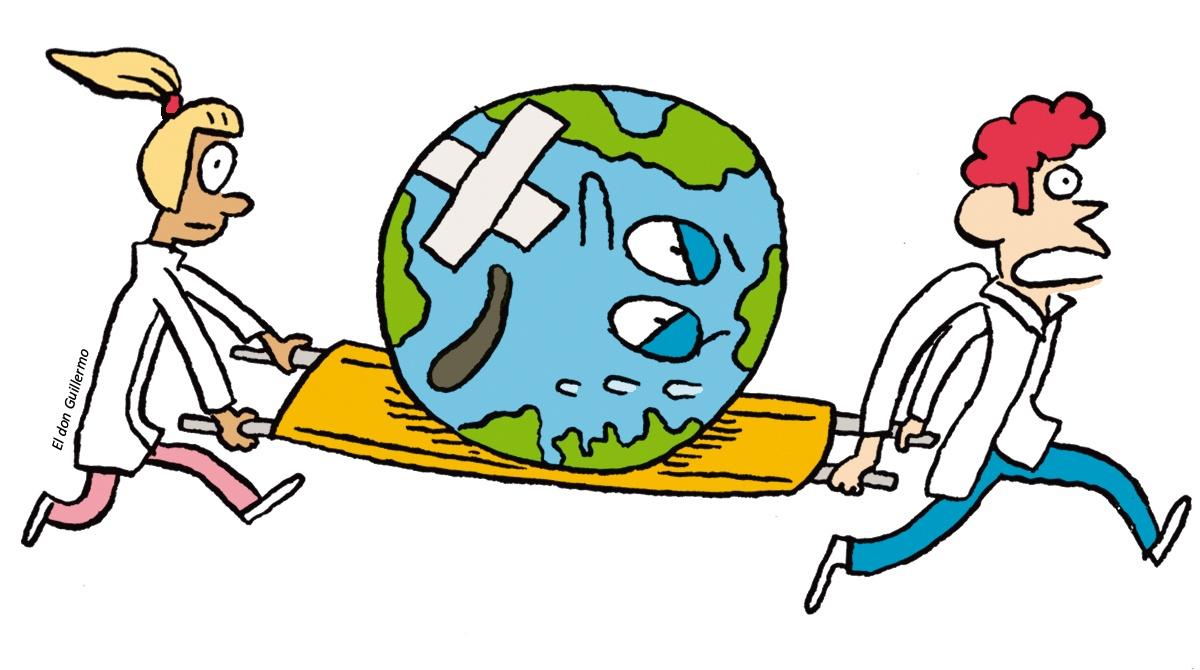 """Participe à la grande consultation, """"La planète, c'est notre affaire !"""" © El don Guillermo"""