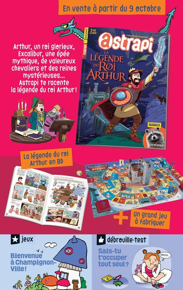 Sommaire du magazine Astrapi n° 934 du 15 octobre 2019