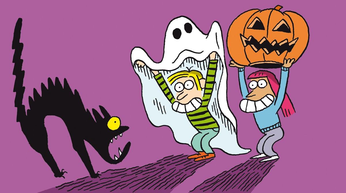 """Salut l'info !"" - Podcast du 26octobre2019 - Halloween - Illustration : El Don Guillermo."