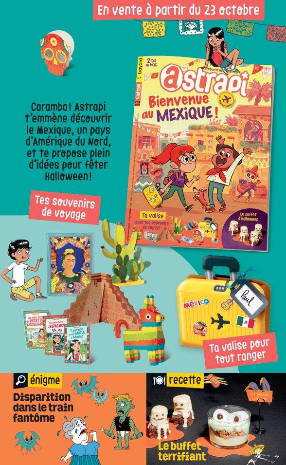 Sommaire du magazine Astrapi n° 935 du 1er novembre 2019