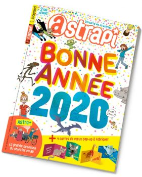 Couverture du magazine Astrapi n° 939 du 1er janvier 2020