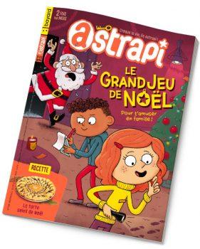 Couverture du magazine Astrapi n° 938 du 15 décembre 2019