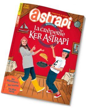 Couverture du magazine Astrapi n° 941 du 1er février 2020