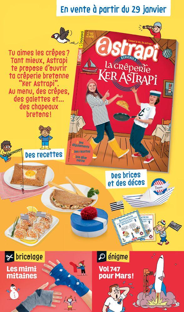 Sommaire du magazine Astrapi n° 941 du 1er février 2020