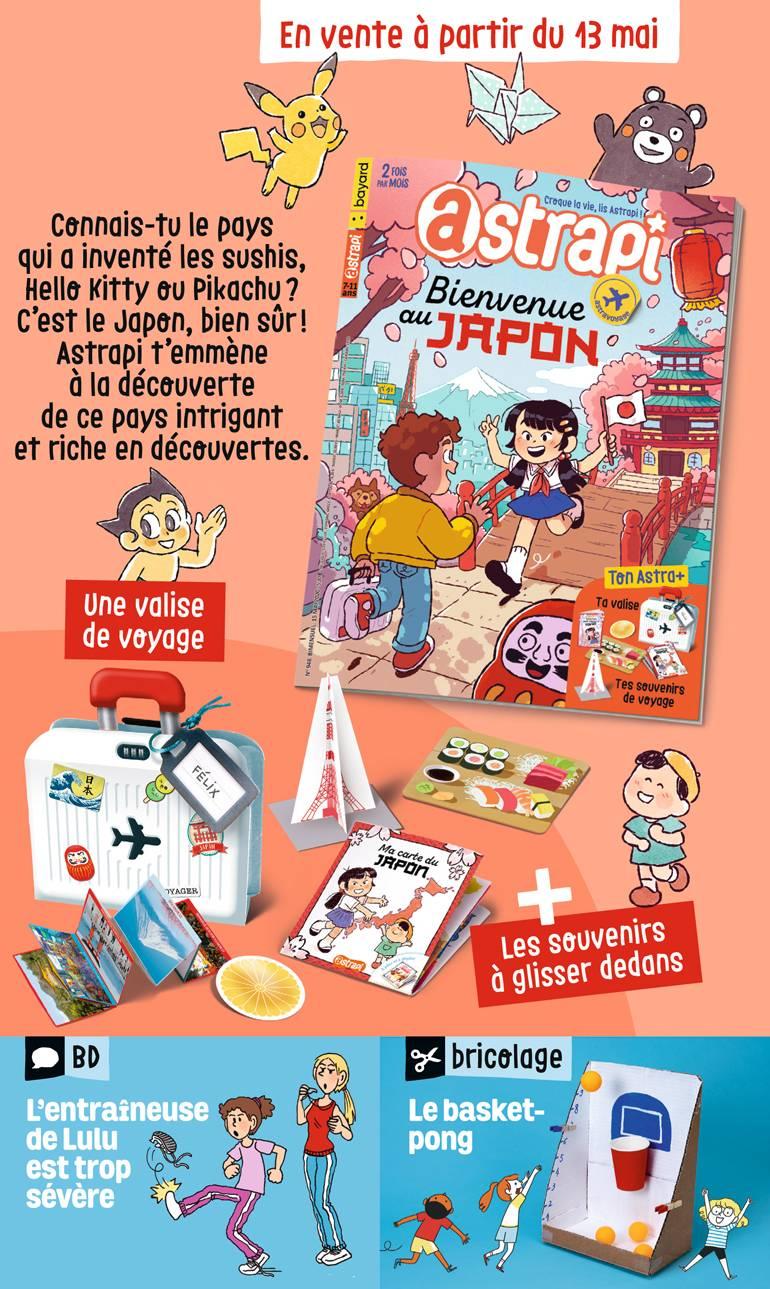 Sommaire du magazine Astrapi n° 948 du 15 mai 2020