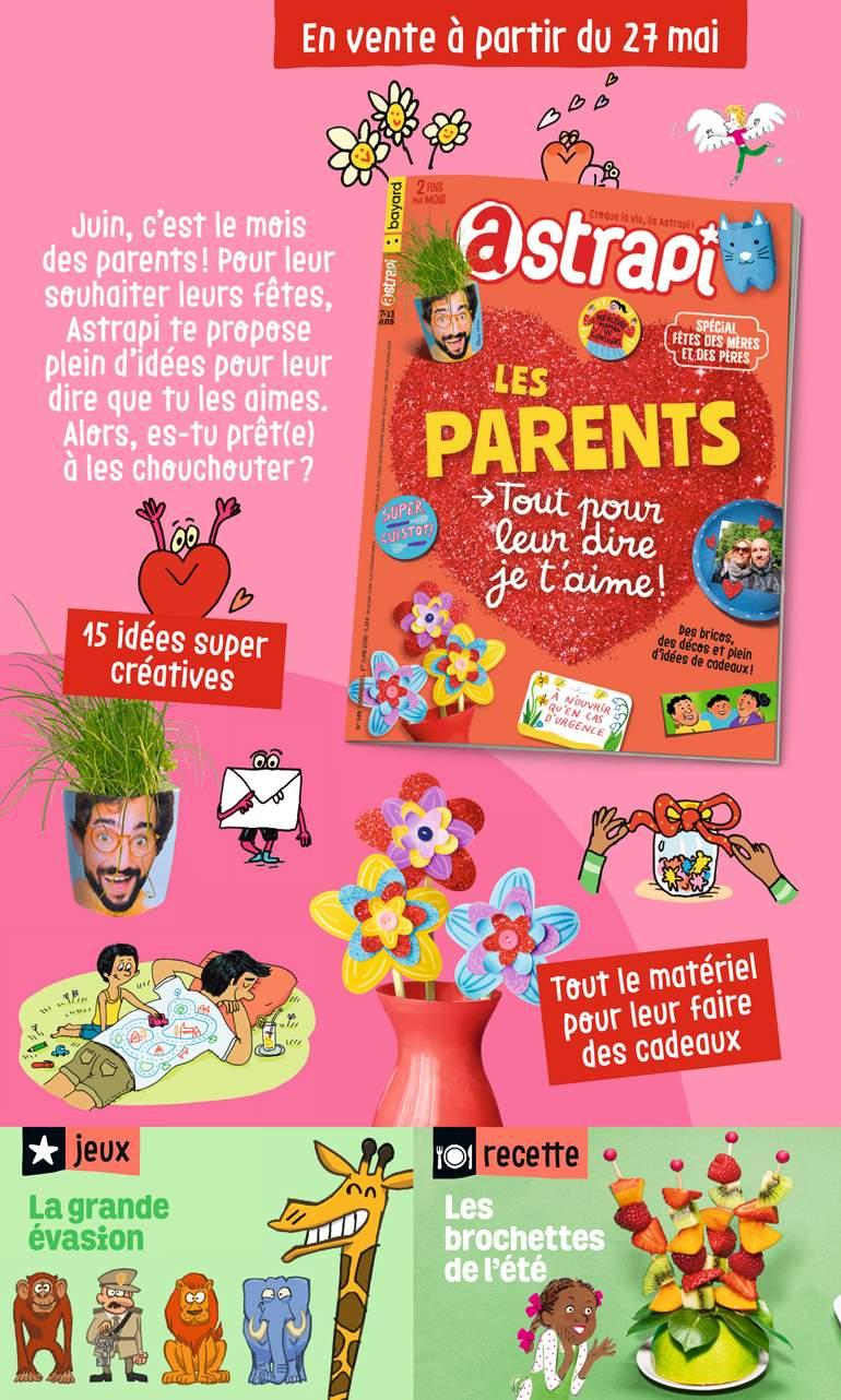 Sommaire du magazine Astrapi n° 949du 1erjuin2020