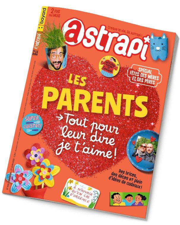 Couverture du magazine Astrapi n° 949 du 1er juin 2020