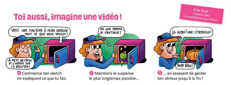 """Astra+ concours Astrapi académie"", Astrapi n°950, 15 juin 2020. Texte : Christophe Nicolas. Illustrations : Sébastien Touache."
