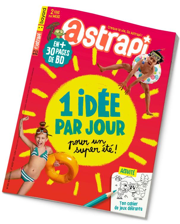 Couverture du magazine Astrapi n° 952 du 1er août 2020