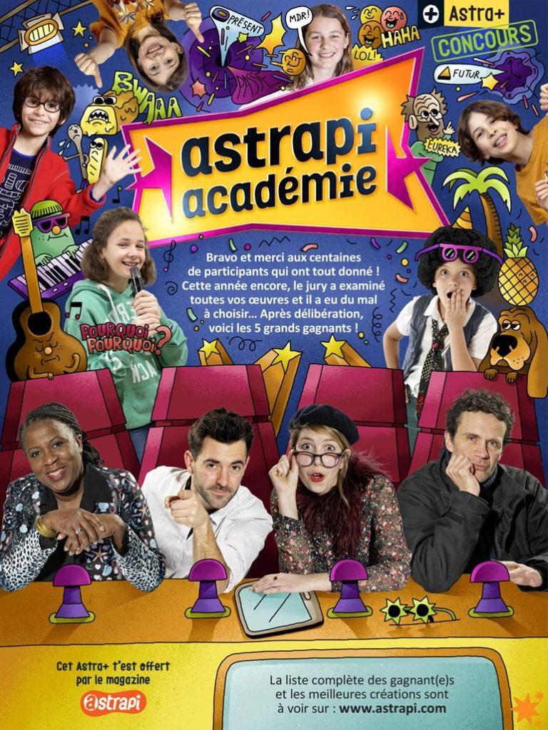 Astrapi Académie 2020, les gagnants !