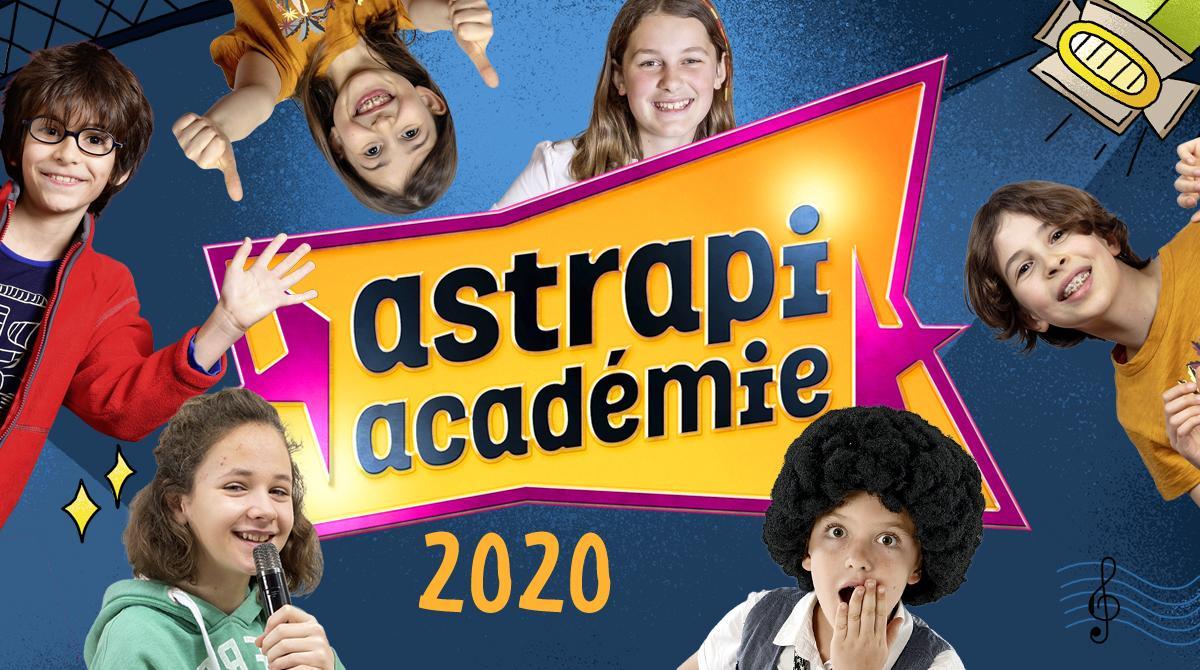 Découvre les gagnantes et les gagnants de l'Astrapi académie 2020