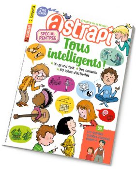 Couverture du magazine Astrapi n° 953 du 1er septembre 2020