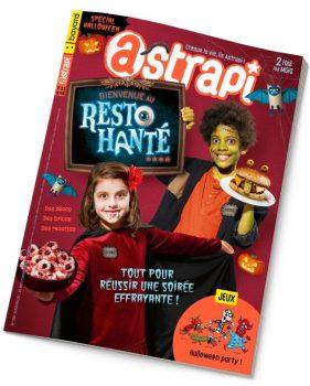 Couverture du magazine Astrapi n° 956 du 15 octobre 2020