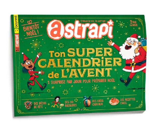 Couverture du magazine Astrapi n° 959 du 1er décembre 2020