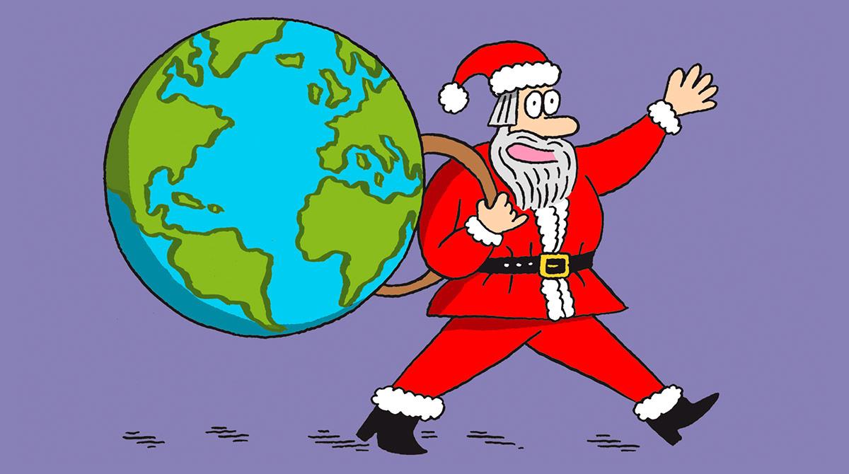 Salut l'info ! - 18 décembre 2020 - Noël autour du monde, vacances et Eric Antoine